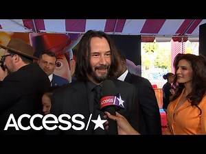 Keanu Reeves Has The Best Reaction To Being Named 'America's Sweetheart'   Access