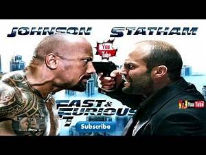 FAST & FURIOUS 7 (2015) - Official CLIP #1 *Fight* (STATHAM vs DWAYNE *The Rock* JOHNSON [HD]
