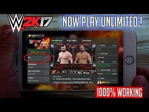 How to Play Real WWE 2k17 for unlimited in gloud games|Best trick to Play gloud games Unlimited time