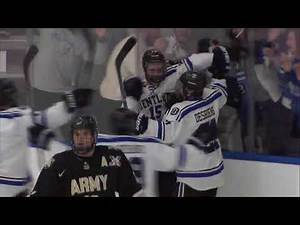 Bentley Hockey Tops Army | Feb. 17, 2017 | Game Highlights