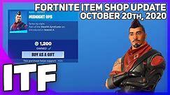 Fortnite Item Shop *RAREST* ITEM SHOP SKIN RETURNS! [October 20th, 2020] (Fortnite Battle Royale)
