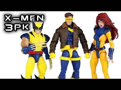 Marvel Legends X-Men 3 Pack Wolverine, Cyclops, & Jean Grey Action Figure Review