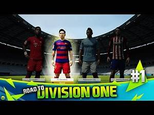FIFA 16 (Ultimate Team) | Road To Division One | #1 | The Journey Begins!