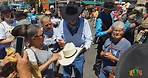 Robert Fuller on the streets of Laramie! Laramie Jubilee Days 2017