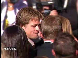 Brad Pitt and Jennifer Aniston for Emmy Awards 2000