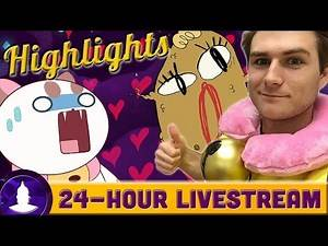 Bee and PuppyCat 24 Hour Livestream Highlights! - Cartoon Hangover