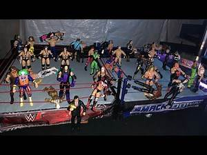 WWE 50 Man Old School 2-Ring BATTLE ROYAL- Lit, Sour, Salty - The Undertaker, Sting, And More