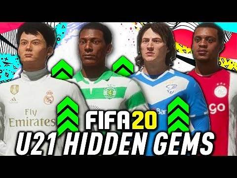 THE BEST U21 HIDDEN GEMS IN FIFA 20 CAREER MODE!!!