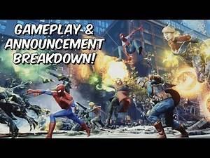 Marvel Future Revolution MMORPG Gameplay & Announcement Breakdown! - Open World Mobile MMO 2020