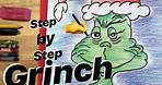 How to Draw the GRINCH Step by Step - Favorite Dr. Seuss Character #grinch #drseuss #mrschuettesart