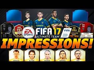 FIFA 17 ULTIMATE TEAM IMPRESSIONS (FIFA 17 PACK OPENING ANIMATION - FUT CHAMPIONS)