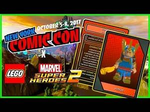 LEGO Marvel Superheroes 2 - New Character Roster Details!