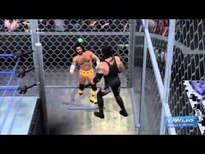 WWE SmackDown vs Raw 2011 - Hell in a Cell - FULL MATCH
