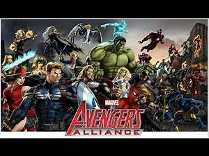 Marvel Avengers Alliance-All Characters(Costumes/Bios)