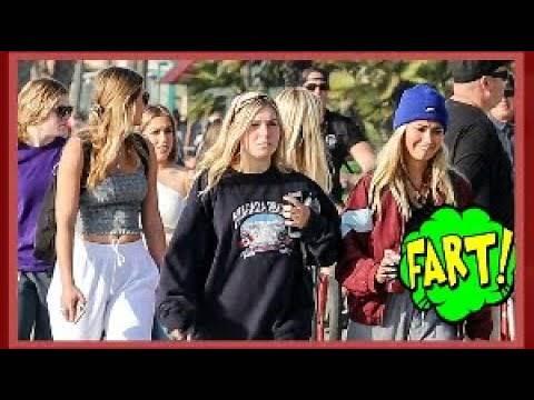 Funny Wet Fart Prank The Sharter At SDSU | Beach
