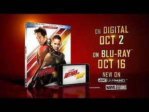 Ant-Man And The Wasp Blu-Ray - Official® Trailer [HD]