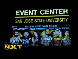 NXT makes its California debut in sold-out San Jose: WWE NXT, April 8, 2015