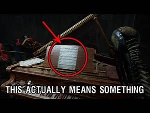 Dead By Daylight - Silent Hill - SHEET MUSIC EASTER EGG