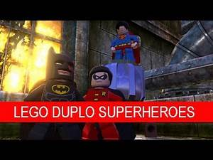 Play Doh LEGO DUPLO SUPERHEROES DC Comic, Batman, Wonder Woman, Superman