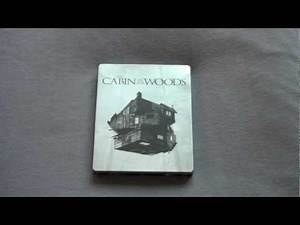 THE CABIN IN THE WOODS UK blu-ray steelbook unboxing