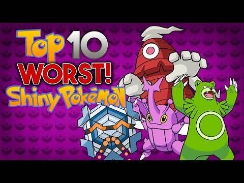 Top 10 Worst Shiny Pokémon