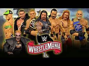 WRESTLEMANIA 36 PREDICTIONS! WWE FIGURES!