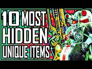FALLOUT 3 - 10 Most HIDDEN Unique Items
