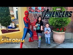 Meeting Marvel Characters Disney