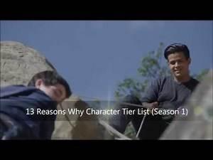 13 Reasons Why Character Tier List (Season 1)