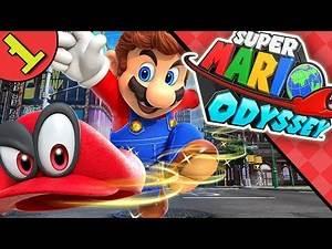 Let's Play Super Mario Odyssey Part 1 | Blind Nintendo Switch Gameplay Walkthrough / Playthrough