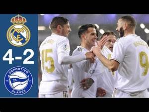 Real Madrid vs Alavés All Goals and Highlights Full Match