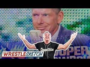 Why WWE Keeps Pushing Shane McMahon... | WrestleTalk's WrestleSketch