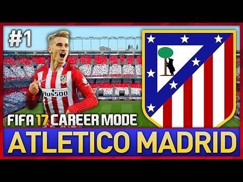 MY NEW TEAM! ATLETICO MADRID CAREER MODE #1 (FIFA 17)