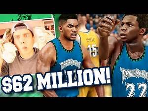NBA 2K17 Timberwolves MyGM #19 - $62 MILLION CONTRACT EXTENSION! Wiggins' Breakout Game, Finally!