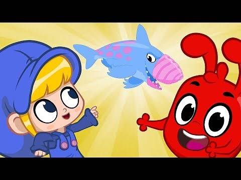 Earth Shark is a Daddy! | BRAND NEW | Cartoons for Kids | Morphle TV