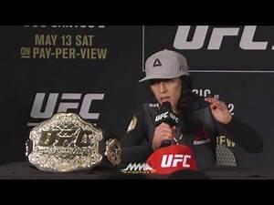 UFC 211 Post-Fight Press Conference: Dana White and Joanna Jedrzejczyk - MMA Fighting