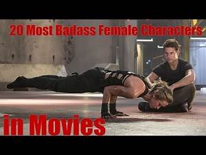 20 Most Badass Female Characters in Movies