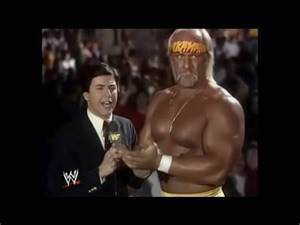 Craig DeGeorge interviews Hulk Hogan about André The Giant at WrestleMania IV (03-13-1988)