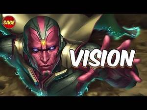 """Who is Marvel's Vision? Goes """"Through"""" The Competition... Literally."""