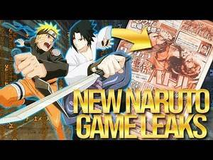 The NEW Naruto Game Is Coming In 2019! New Naruto Game Leaks!