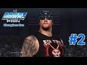 WWE SmackDown! Here Comes the Pain: Season Mode (Smackdown Champions Run) Part 2