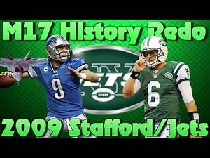 Madden 17 Connected Franchise: History Redo/Rebuild | 2009 Jets Draft Stafford Not Sanchez!