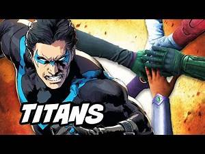 Titans Episode 1 Nightwing TV Show Cast Breakdown