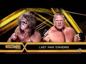 WWE 2K16 - Ultimate Warrior vs. Brock Lesnar (Last Man Standing)