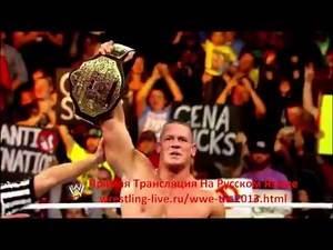 Promo Match John Cena vs Randy Orton WWE TLC
