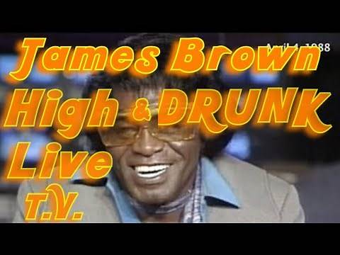 James Brown CNN Interview High & Drunk