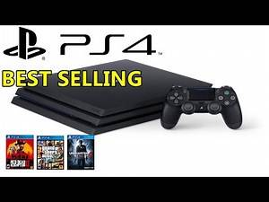 Top 10 Best Selling PlayStation 4 Games (1~10)