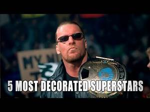 5 current Superstars with the most titles: 5 Things