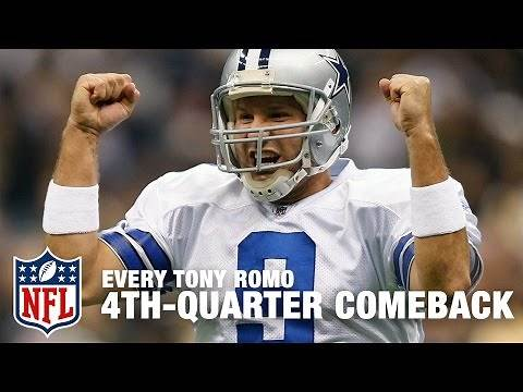 Every Tony Romo 4th-Quarter Comeback Victory! | Tony Romo Retires | NFL