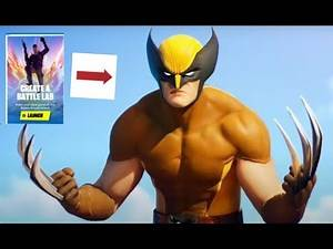 Can we get the Wolverine skin in battle lab?